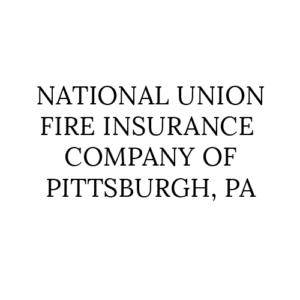 Insurance Partner National Union FIre Insurance