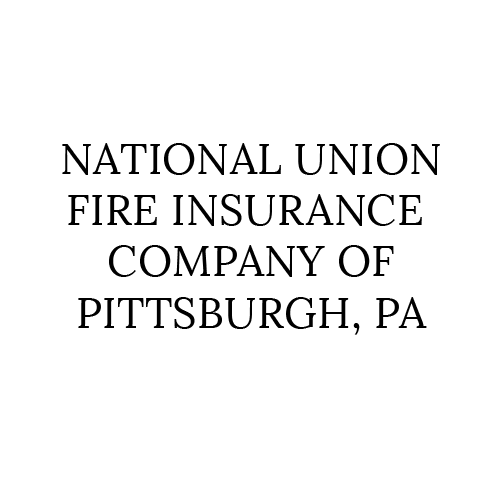 Insurance Partner National Union FIre Insurance