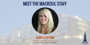 Meet the Mackoul Staff - Danielle Klemm
