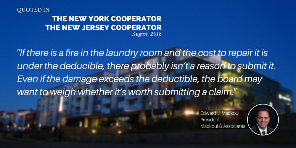 Mackoul Quoted in The Cooperator Article Filing Insurance Claims